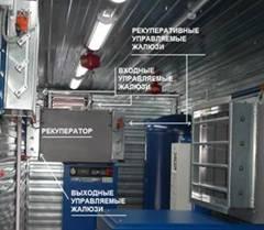 модульные винтовые компрессорные станции